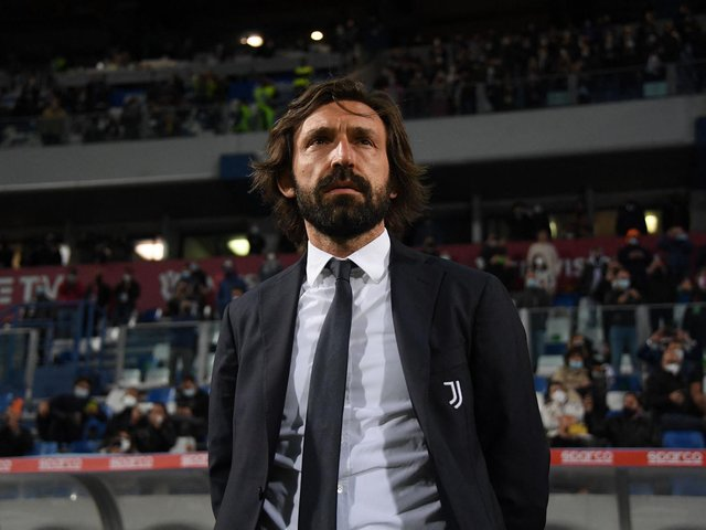 LEGEND: Former Italy star Andrea Pirlo, pictured in charge of Juventus prior to the Coppa Italia final against Atalanta back in May. Photo by ALBERTO LINGRIA / AFP.