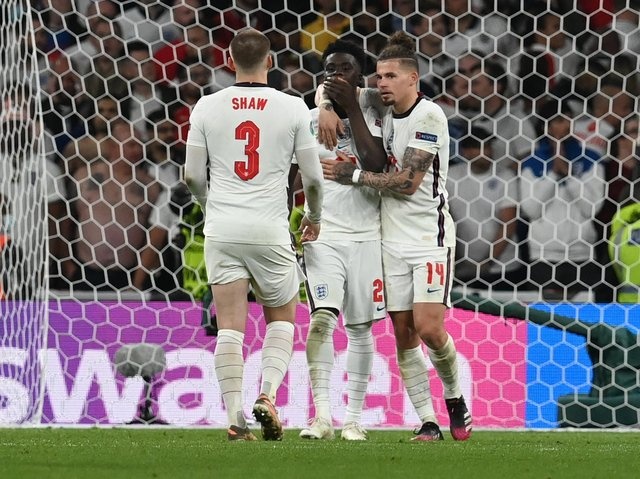 BEYOND PROUD - Nothing that happened at Wembley in the Euro 2020 final was going to harm Leeds United midfielder Kalvin Phillips' reputation in Leeds. Pic: Getty