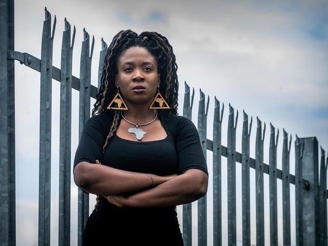 Marvina Newton, of Black Lives Matter Leeds. Picture James Hardisty