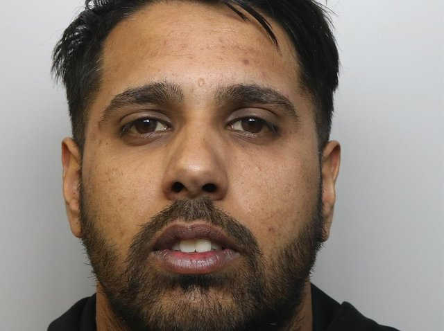 Ameer Khan was jailed for 30 months over attack on shopkeeper.