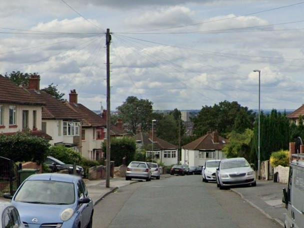 Easterly Avenue, Roundhay, where residents could scoop up to £3,000 (Photo: Google)