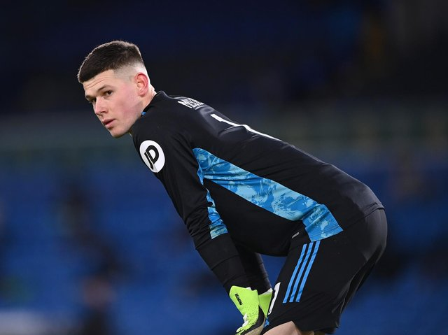 NUMBER ONE - Leeds United's first choice keeper Illan Meslier saw off the challenge of former Real Madrid man Kiko Casilla and the Whites want to add another young goalkeeper to the ranks. Pic: Getty