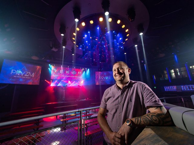 Gavin McQueen, manager of Leeds nightclub PRYZM, said staff are excited to 'get their lives back'