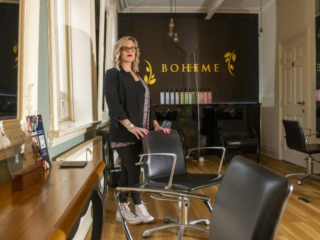 Becky Wendel at Boheme Hair and Beauty Boutique in Farsley.