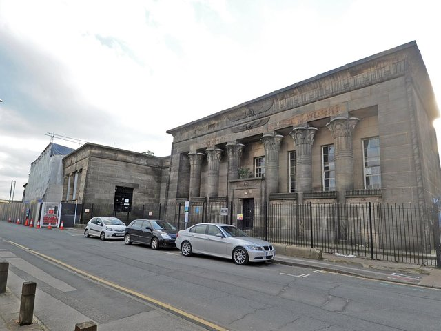 The Temple Works building in Holbeck.