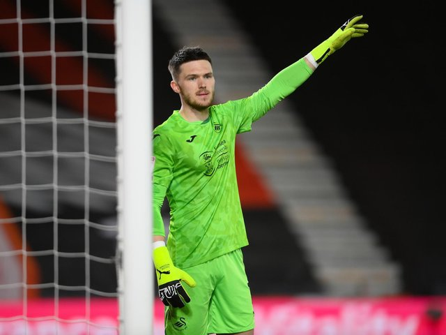 SHORT LIST - Newcastle United's Freddie Woodman, who spent the last two seasons on loan at Swansea City, is one of three Leeds United have made approaches for this summer. Pic: Getty