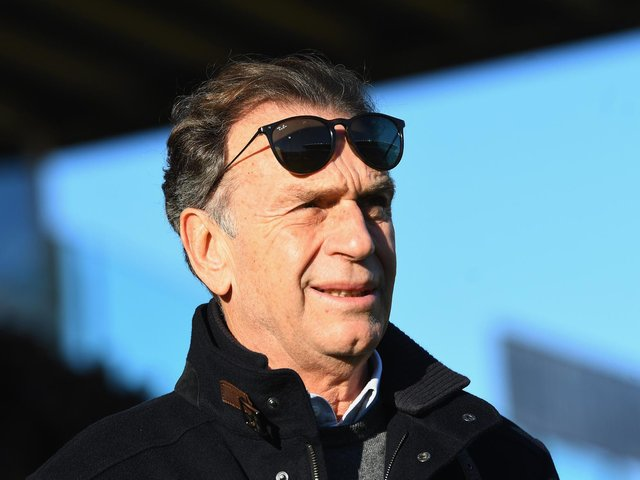 PRAISE: For former Leeds United chairman Massimo Cellino, above, from Gaetano Berardi. Photo by Alessandro Sabattini/Getty Images.