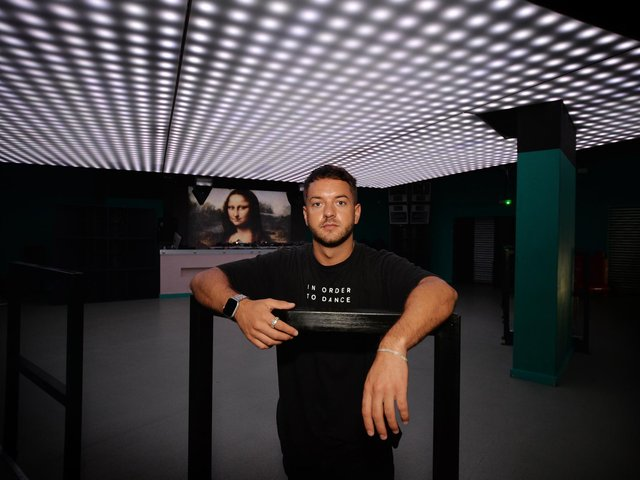 Leeds DJ Josh Demello, pictured in Mint Warehouse, says freedom day parties are 'going down in history'
