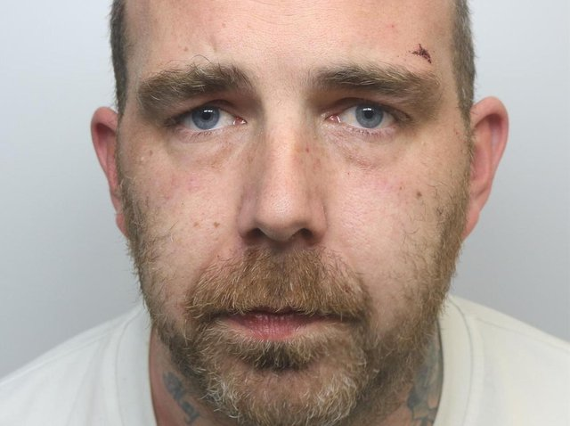 Christopher Alcock was jailed for 23 months over violence at Bramley Villagers Club