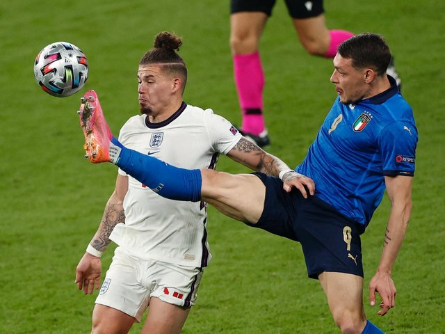 WRITTEN OFF - Kalvin Phillips was written off by a number of Leeds United fans before Marcelo Bielsa came to Elland Road and helped him become an England Euro 2020 star. Pic: Getty