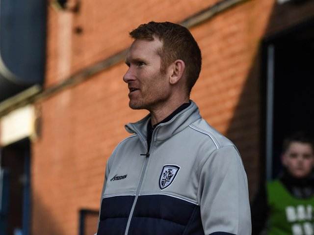 Featherstone Rovers coach James Webster. Picture by Dec Hayes.