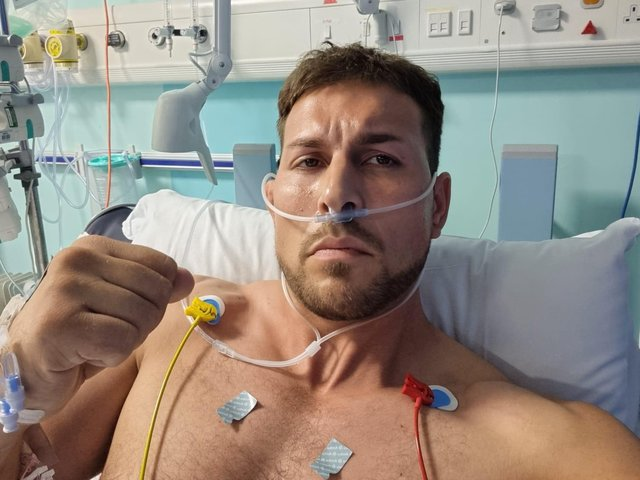 James Harrison, known locally as Baz, was left with serious injuries when he was stabbed in the back last month