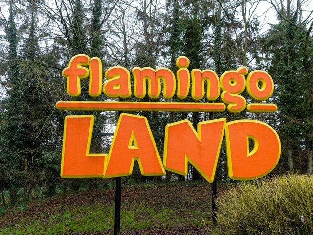 A 30-year-old man has died suddenly at a Flamingo Land holiday park