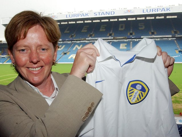 INSPIRATIONAL: Former Leeds United Women manager Julie Chipchase. Picture by Steve Riding.