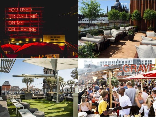 10 of the best rooftop bars in Leeds for a hot weekend
