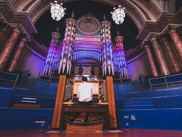 """Leeds Town Hall will welcome visitors both online and in person to a very special """"meet the organ"""" event this Saturday."""