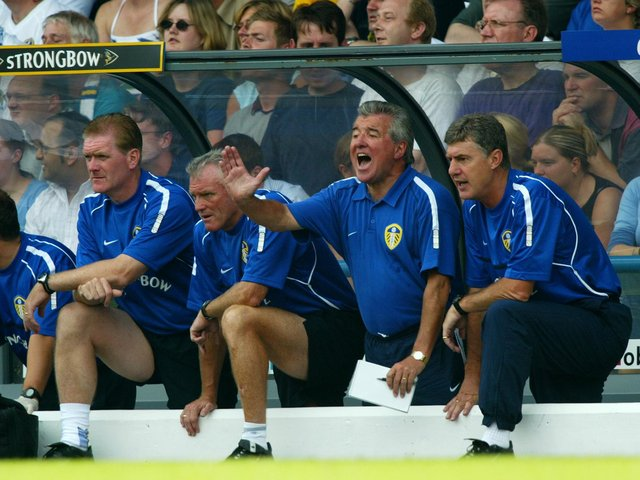 Enjoy these photo memories from Leeds United's 3-0 win against Manchester City at Elland Road in August 2002. PIC: Getty