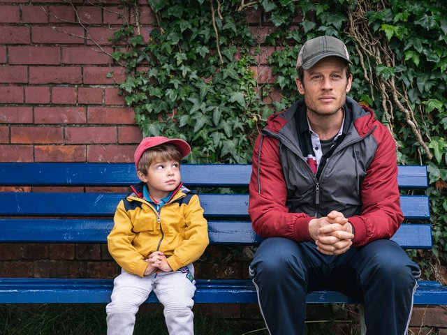 James Norton stars as dying window cleaner John who wants to find the perfect family for his son