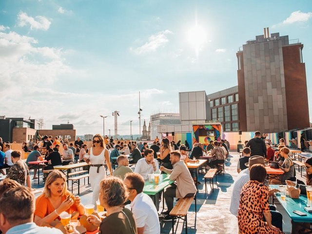 Camden Town Brewery's annual 'tank party' will visit Multistories