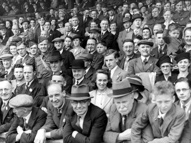 Enjoy these photo memories from Foreign Secretary Anthony Eden's visit to Elland Road in July 1941. PIC: Leeds Libraries, www.leodis.net