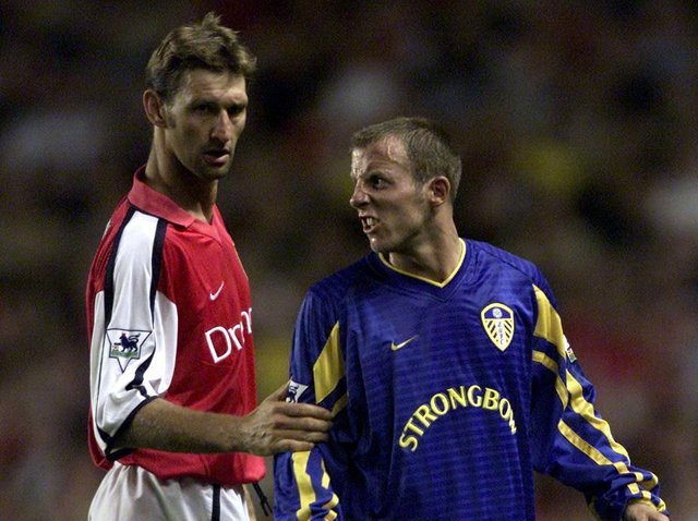 Enjoy these photo memories from Leeds United's 2-1 win at Highbury in August 2001. PIC: PA