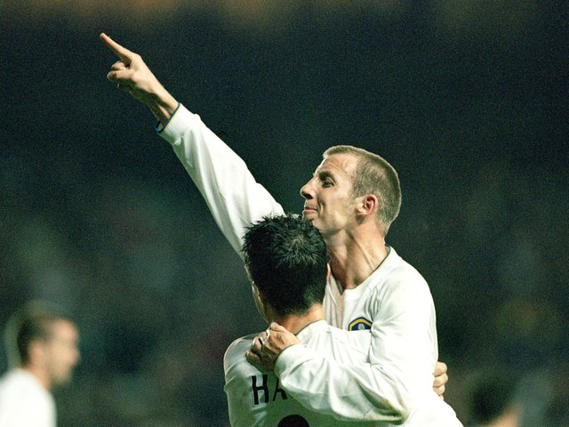Enjoy these photo memories of Leeds United's 6-0 Champions League rout of Besiktas. PIC: Getty