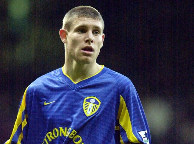 James Milner pictured on his debut against West Ham United at Upton Park in November 2002. PIC: Mark Bickerdike
