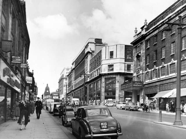 Enjoy these photo memories of The Headrow in the 1950s.