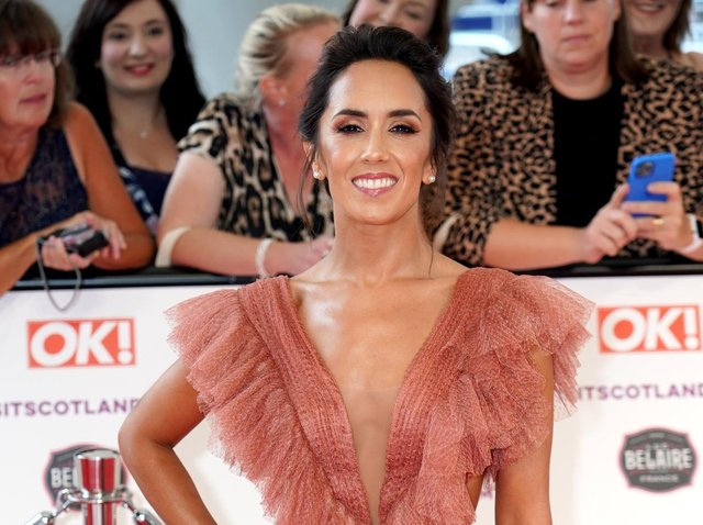 Janette Manrara replaced Marsh earlier this year.