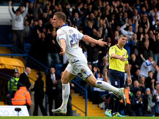 Enjoy these photo memories of Matt Smith in action for Leeds United. PIC: Getty