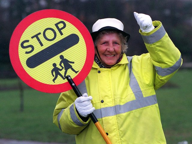 Enjoy these lollipop lady memories from Leeds schools in the 1990s. PIC: James Hardisty