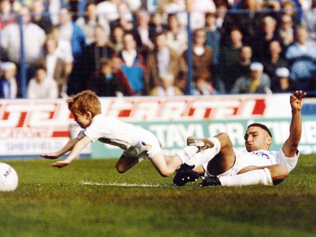 Enjoy these photo memories of Vinnie Jones during his Leeds United playing days. PIC: Varley Picture Agency