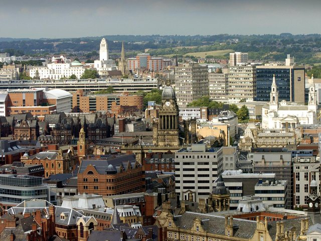 Enjoy these photo memories from around Leeds in 2006. This is the view from the top of Bridgewater Place. PIC: