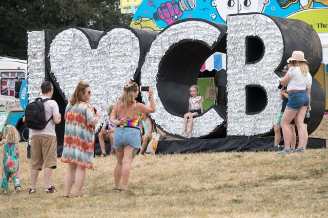 Festival goers enjoy the fine weather at Camp Bestival in 2018 (Photo: Matt Cardy/Getty Images)