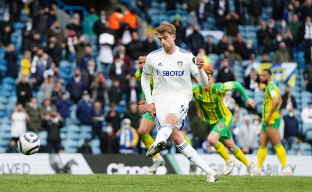 Patrick Bamford of Leeds United. (Photo by Jon Super - Pool/Getty Images)