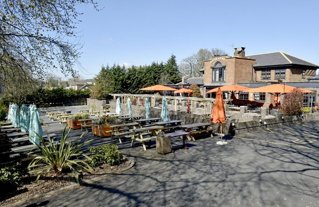 The seating area at Beck and Call, Meanwood