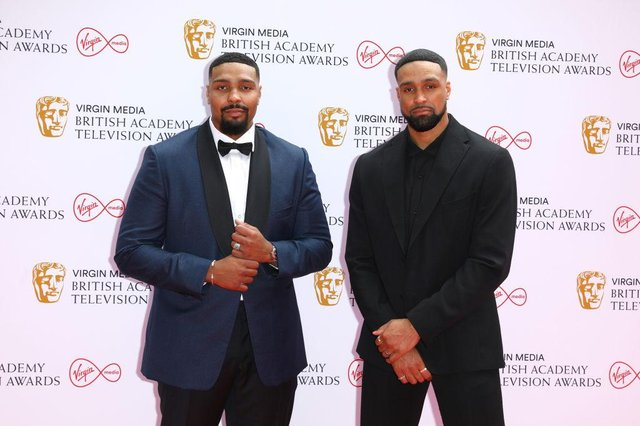 Diversity choreographer Ashley Banjo accepted the BAFTA alongside his brother and dance partner, Jordan Banjo on 6 June 2021 (Picture: Getty Images)