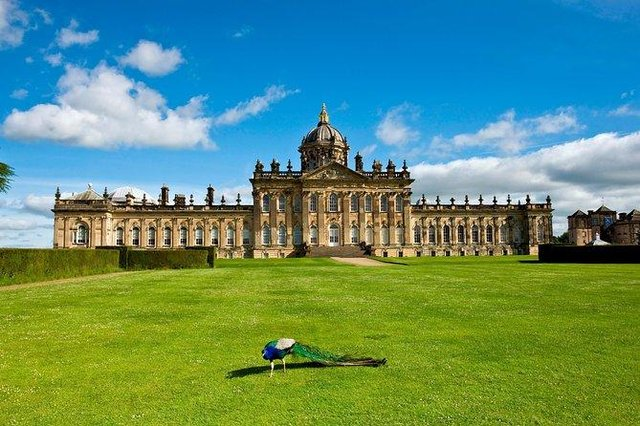 Castle Howard in York features in the new Netflix drama (Picture: Castle Howard)