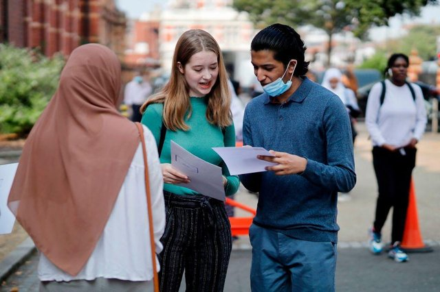 A-Level students received their results on Thursday morning (Getty Images)