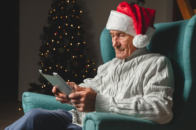 Elderly people are left feeling particularly isolated at Christmas