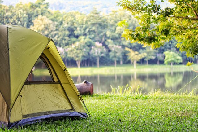 Camping holidays are expected to have another surge in interest when Covid rules are relaxed in England. (Pic: Shutterstock)