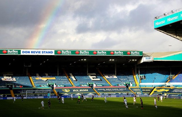 Elland Road, the home of Leeds United Football Club. (Photo by Molly Darlington - Pool/Getty Images)