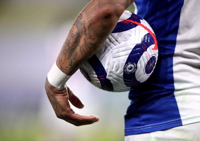 Premier League match ball.  (Photo by Alex Pantling/Getty Images)