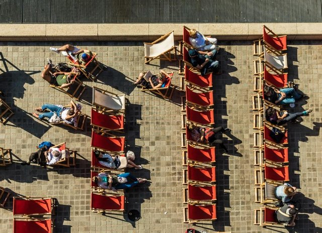 For many people, a bank holiday is a time to relax (Shutterstock)