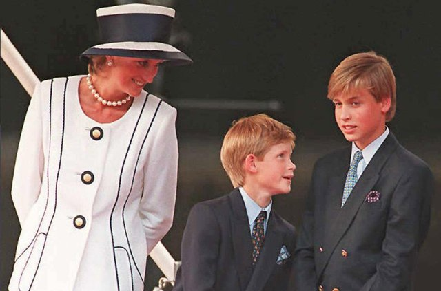 Harry and William inherited Diana's money on their 30th birthdays (Getty Images)