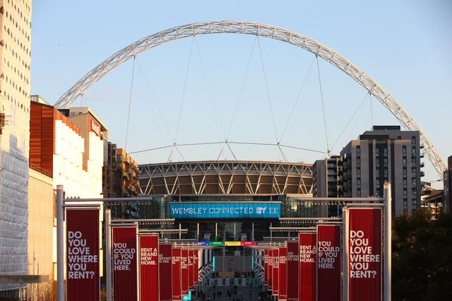 Wembley Stadium. (Photo by Hollie Adams/Getty Images)