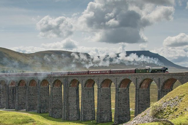 Scots Guardsman (number 46115) is set to pull both the Dalesman and Pendle Dalesman excursions over the spectacular Settle-Carlisle line