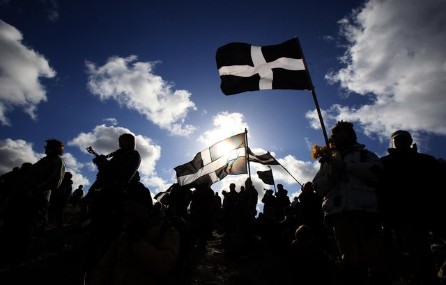 In normal times, St Piran's Day celebrations can last a full week before the actual day (Getty Images)