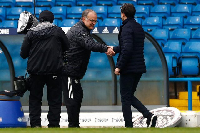 Marcelo Bielsa, Manager of Leeds United. (Photo by Jason Cairnduff - Pool/Getty Images)