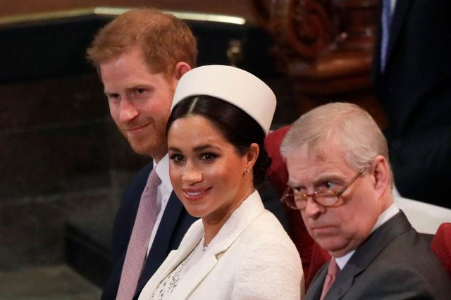 Harry and Meghan are no longer entitled to security, but the Queen funds security for Prince Andrew (Picture: Getty Images)